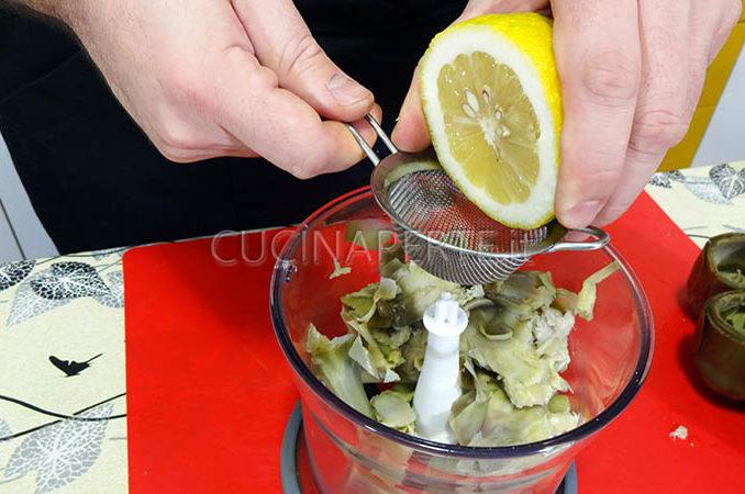 Aggiungere limone spremuto