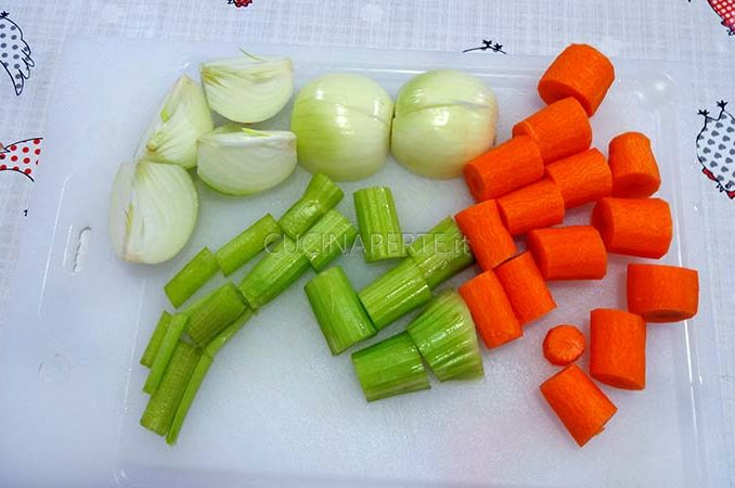 Verdure a pezzi