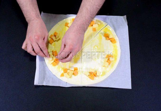 Adagiare il formaggio