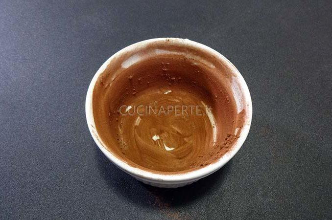 Cacao nello stampo