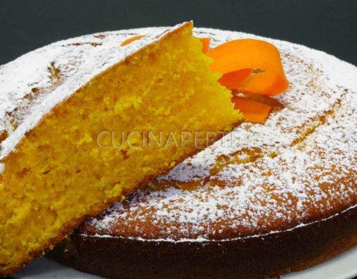 Torta carota e arance