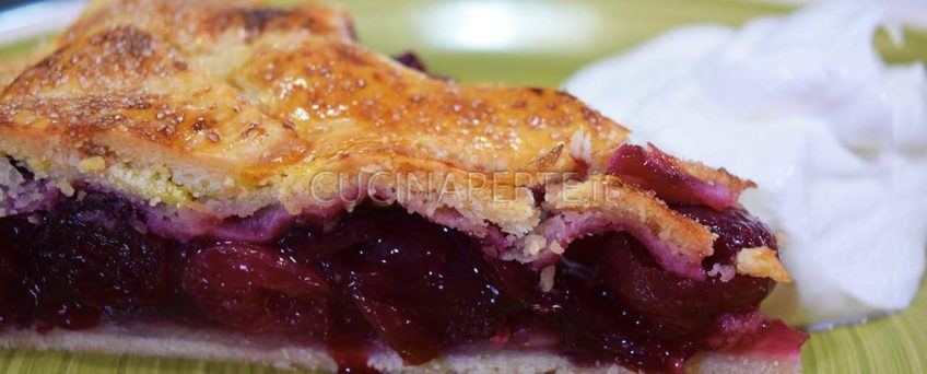 Cheery pie torta di ciliegie