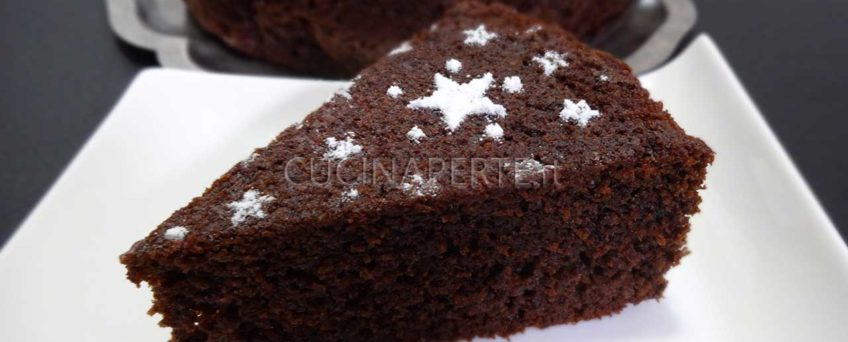 Torta al cacao soffice