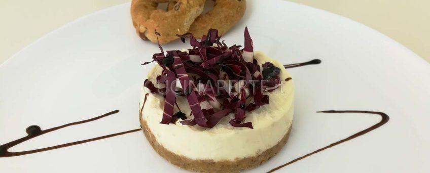 Cheescake salata