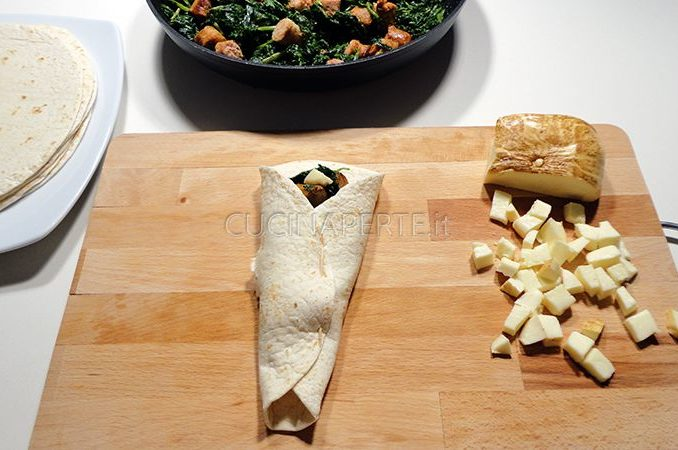 Come piegare Tortillas