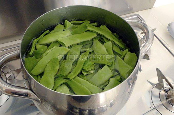 cuocere taccole