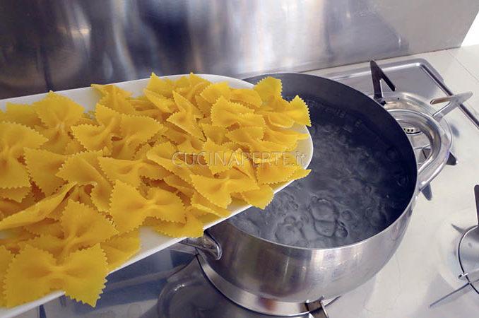 Bollire la pasta