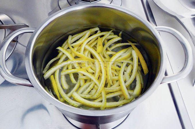 Bollire il limone