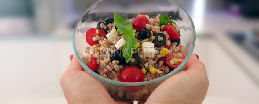 Farro all'insalata