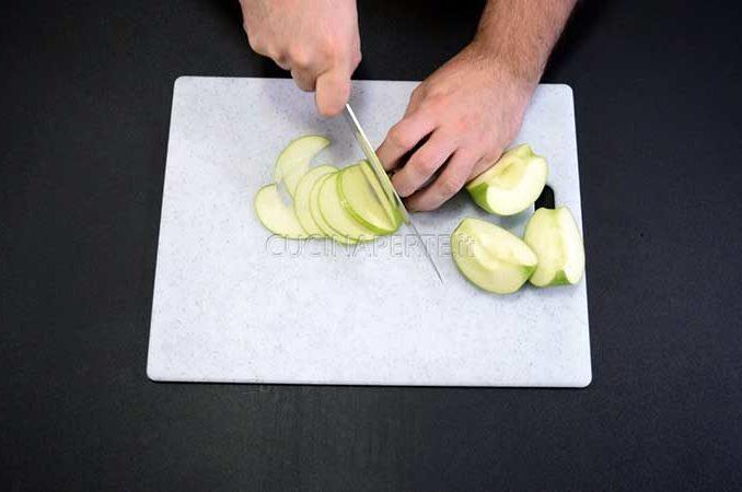 Tagliare le mele