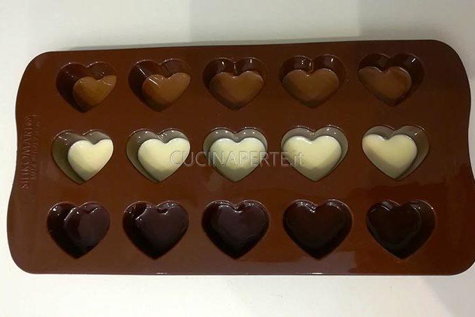 Realizzare i cioccolatini