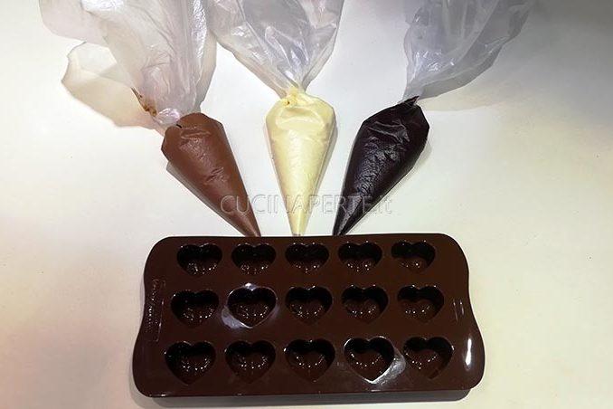 preparazione cioccolato