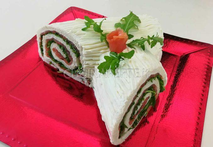 Ricetta Tronchetto Di Natale Salato.Tronchetto Di Natale Salato Cucina Per Te