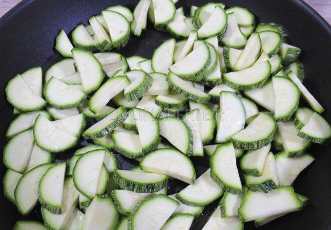 Rosolare le zucchine