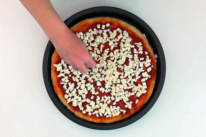 Fiordilatte pizza