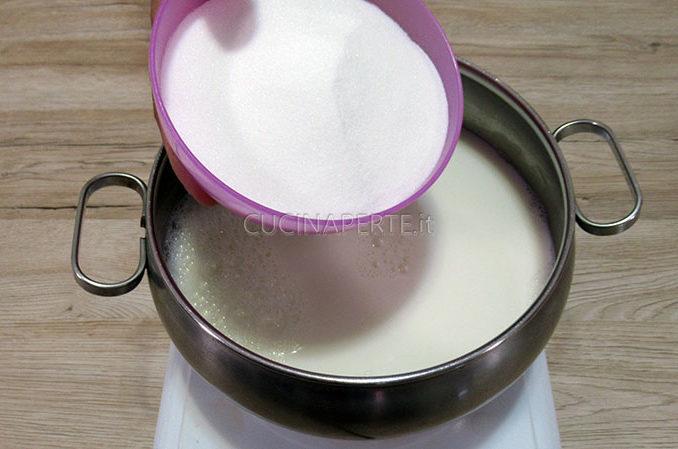 Versare zucchero