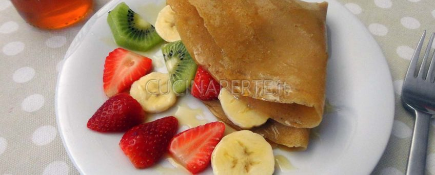 Crepes con frutta