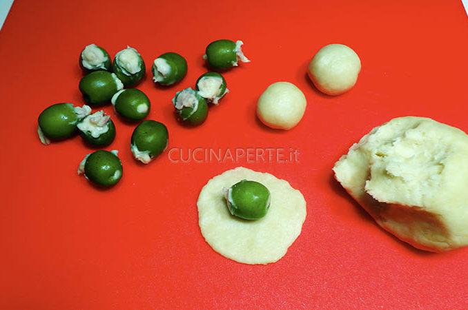 Richiudere le olive
