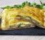 Strudel salato zucchine prosciutto scamorza