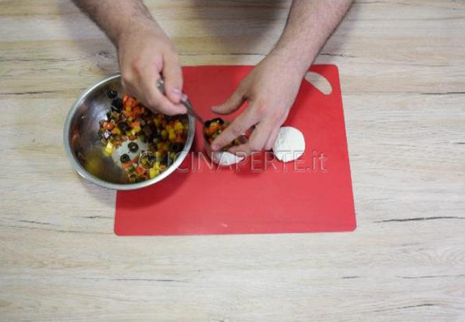 Farcire mozzarella