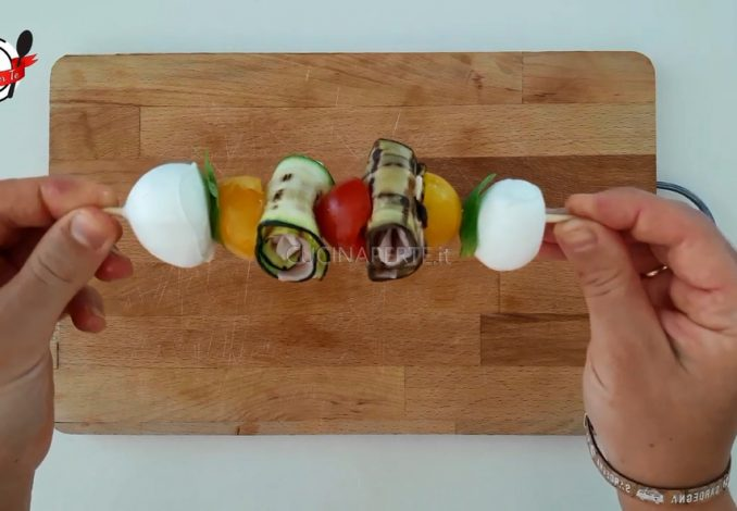 Spiedini di Zucchine e Melanzane