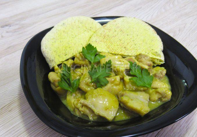 Pollo a curry