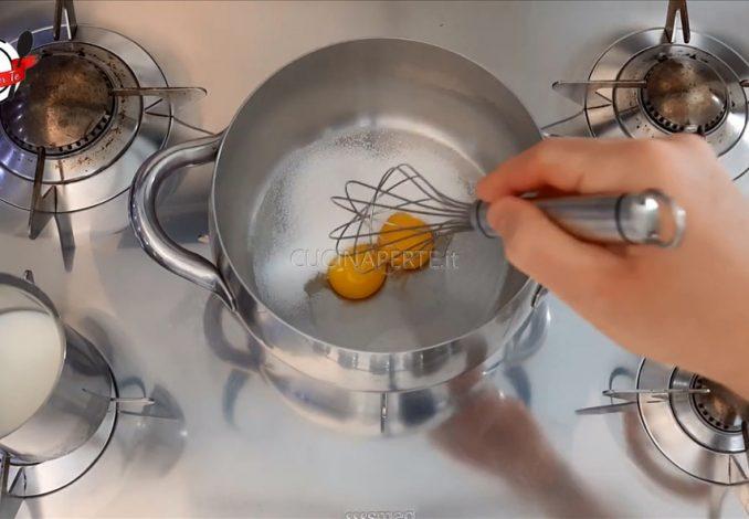 Crema per la farcitura delle torte